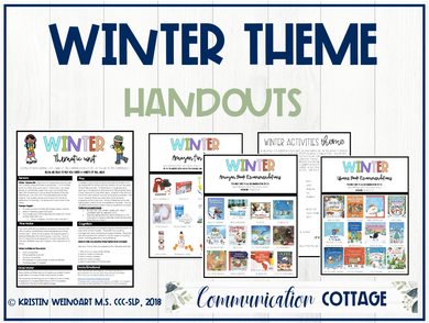 Winter Activities Theme Guide