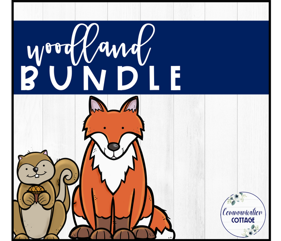 Woodland Theme Digital Bundle
