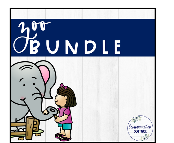 Zoo Theme Digital Bundle