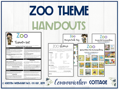Zoo Theme Guide (PDF)