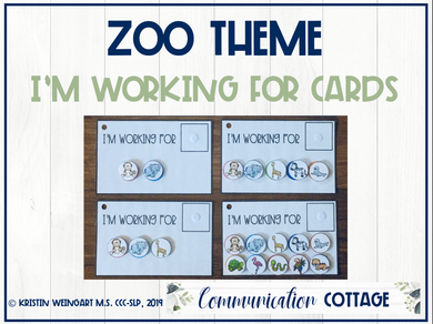 Zoo: I'm Working For Cards (PDF)