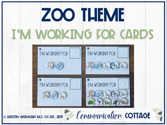 Zoo: I'm Working For Cards