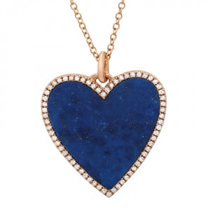 DinaCollection_Necklace_BlueLapis Heart_Yellow Gold_5327LPN4RXA11