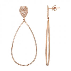 DinaCollection_Earrings_DiamondTearDrop_RoseGold_7765DWE4RXA11