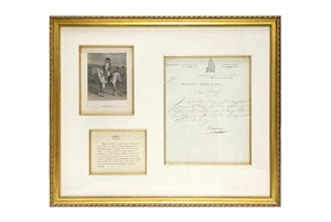 NAPLEON BONAPARTE Signed Letter