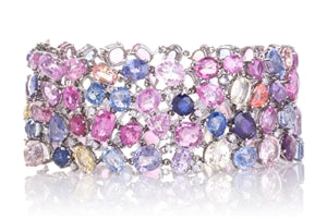 Everyone's Muse Diamond Bracelet - Vintage Platinum Diamond Bracelet
