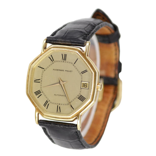 Audemars Piguet 18k Yellow Gold Automatic Men's Watch
