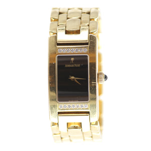 Audemars Piguet Promesse Women's Solid 18K Yellow Gold and Diamond Watch
