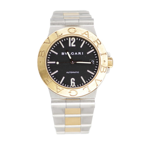 BVLGARI DIAGONO TWO TONE AUTOMATIC