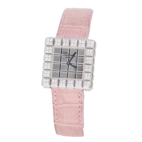 CHOPARD PINK ICE CUBE LADIES WATCH