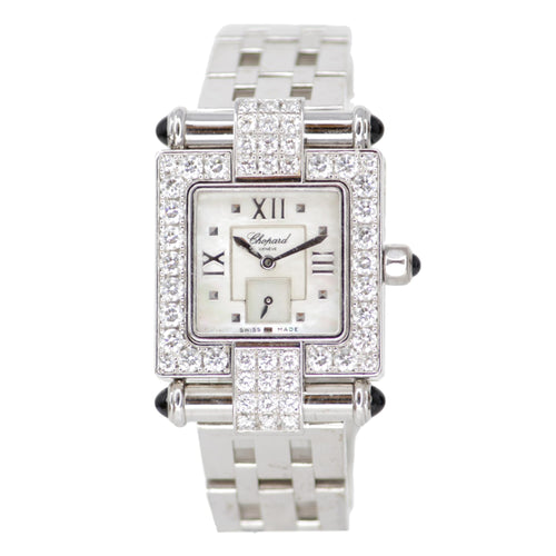Chopard Imperiale Watch 18k White Gold with diamond bezel
