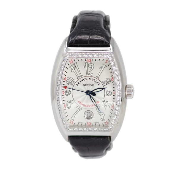 Franck Muller Limited Edition Conquistador with Diamond Set Bezel