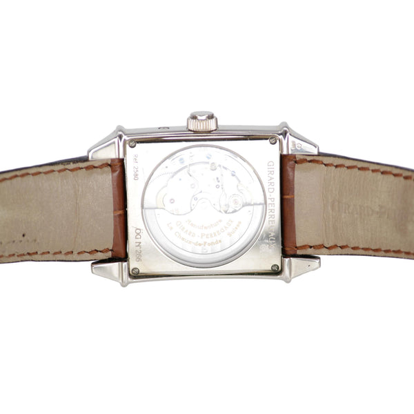 Girard Perregaux 18k White Gold Watch No. 2580 Moonphase 32mm