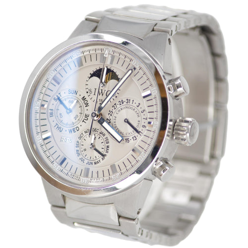 IWC GST Perpetual Calendar Moonphase Stainless Steel Automatic