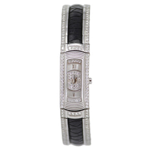 Mauboussin 18k White Gold Diamond Ladies Watch