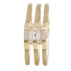Van Cleef and Arpels 18k Yellow Gold Watch with Diamonds