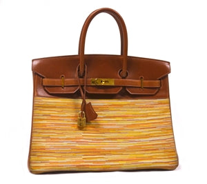 HERMES BIRKIN BAG 36 TWO TONE