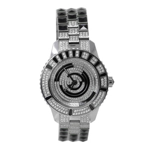 Dior Christal Stainless Steel Ladies Watch