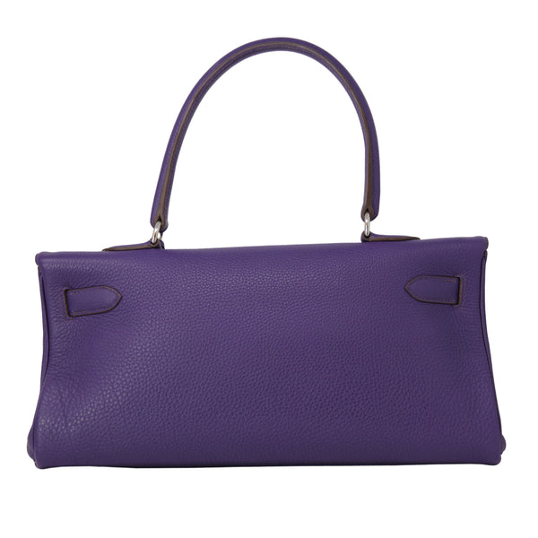 Hermes Birkin Purple Violet Jean Paul Gaultier Peppled Leather