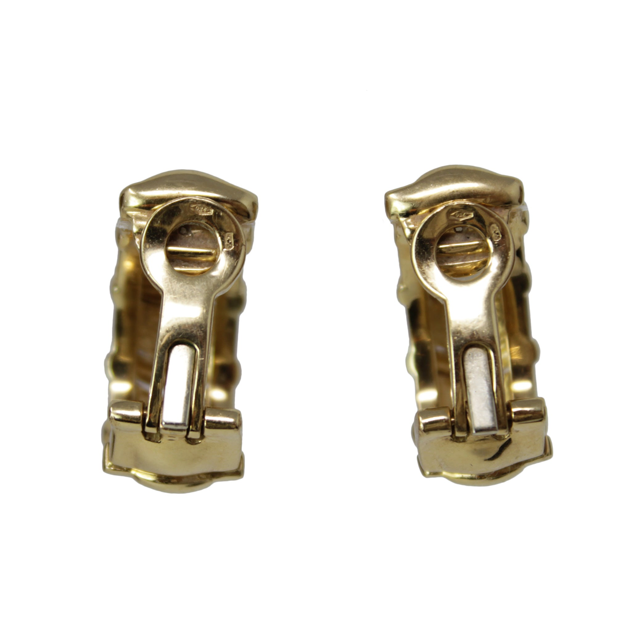 Piaget Yellow Gold Clip on Earrings