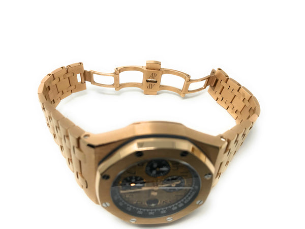 Audemars Piguet Royal Oak Offshore 18k Rose Gold Chronograph