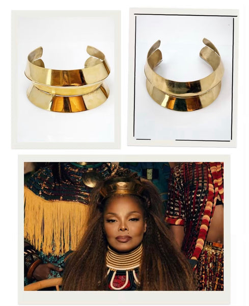 Janet Jackson's Headdress