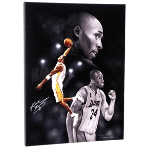 KOBE BRYANT Authenticated & Autographed Fine Art