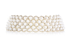 18K BUCCELLATI PEARL NECKLACE