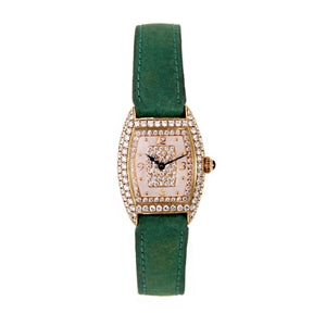 FRANK MULLER DIAMOND LADIES WATCH MOTHER OF PEARL DIAL
