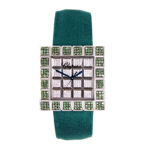 CHOPARD LADIES TSAVORITE ICE CUBE WATCH