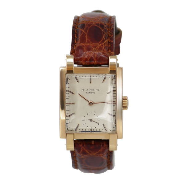 Patek Philippe Vintage 18k Rose Gold Watch