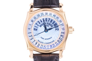 ROGER DUBUIS THREE RETROGRADE ROSE GOLD MEN'S WATCH
