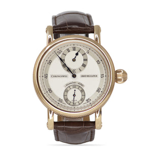 Chronoswiss Grand Regulateur Rose Gold Large Round Face Men's Watch