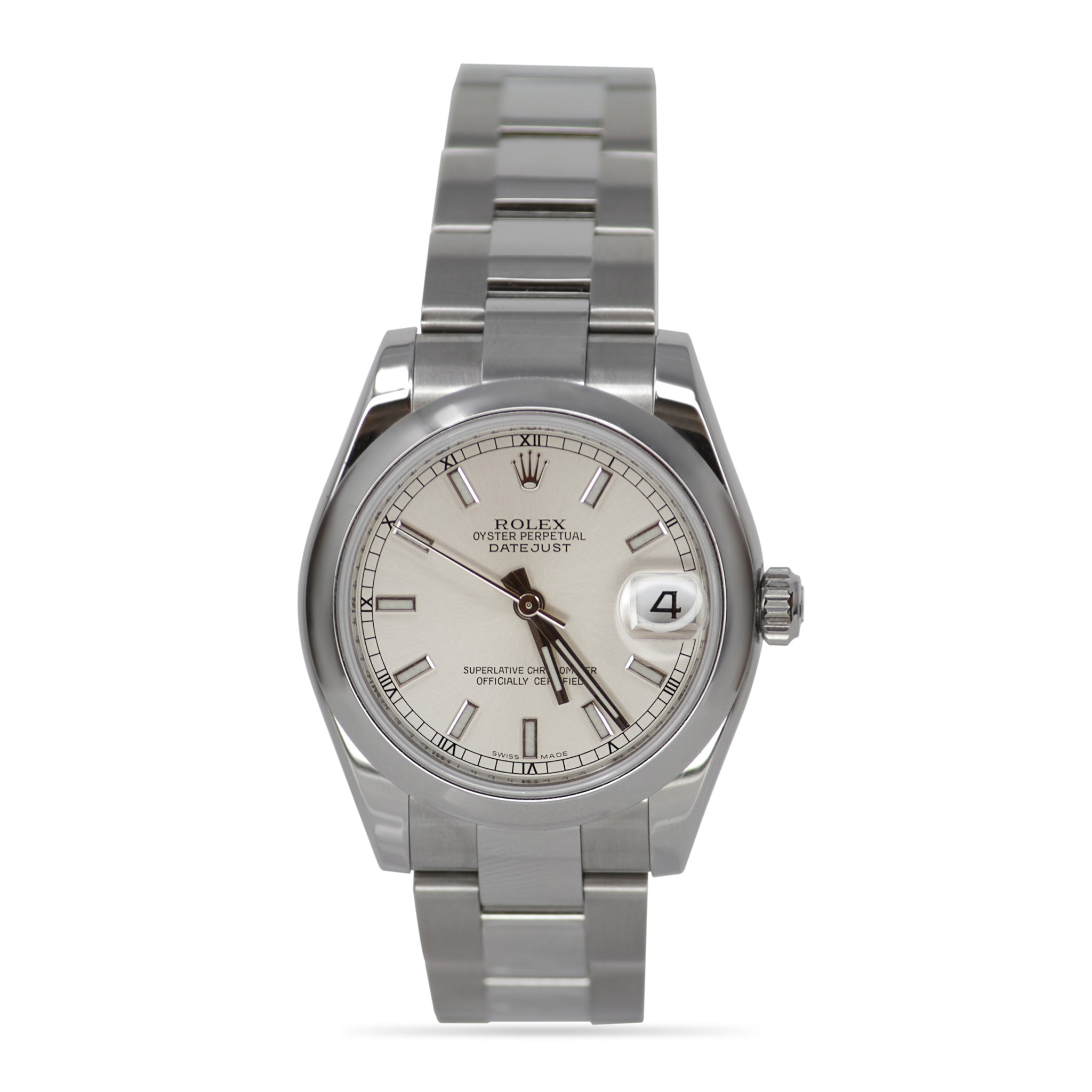 Rolex Oyster Perpetual Stainless Steel Datejust from Glee! Live! 2011