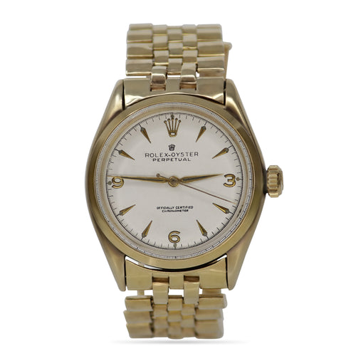Vintage Rolex-Perpetual 18k Yellow Gold