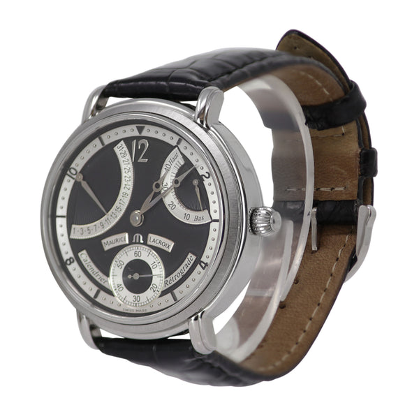 Maurice Lacroix Masterpiece Calendrier Retrograde Watch