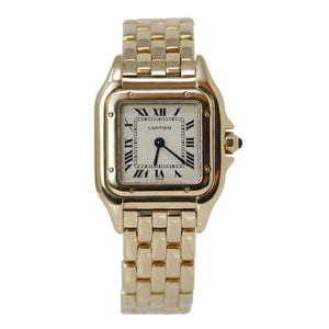 Cartier Small Panthere Collection Ladies 18k Yellow Gold Watch