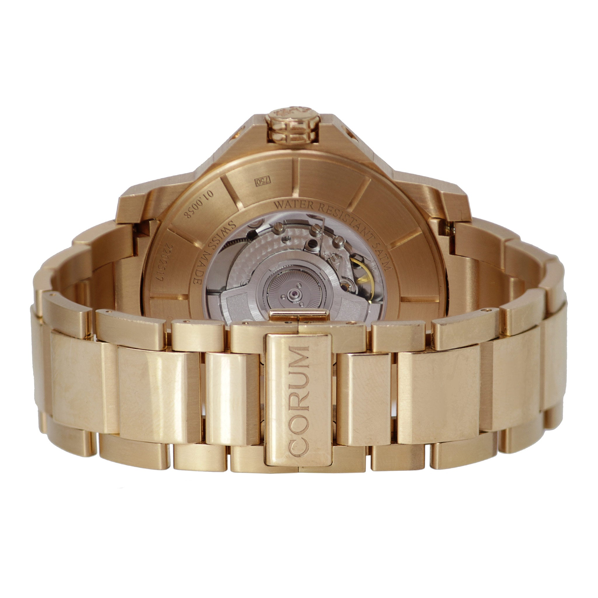 Corum Admiral's Cup GMT 18k Rose Gold Men's Watch