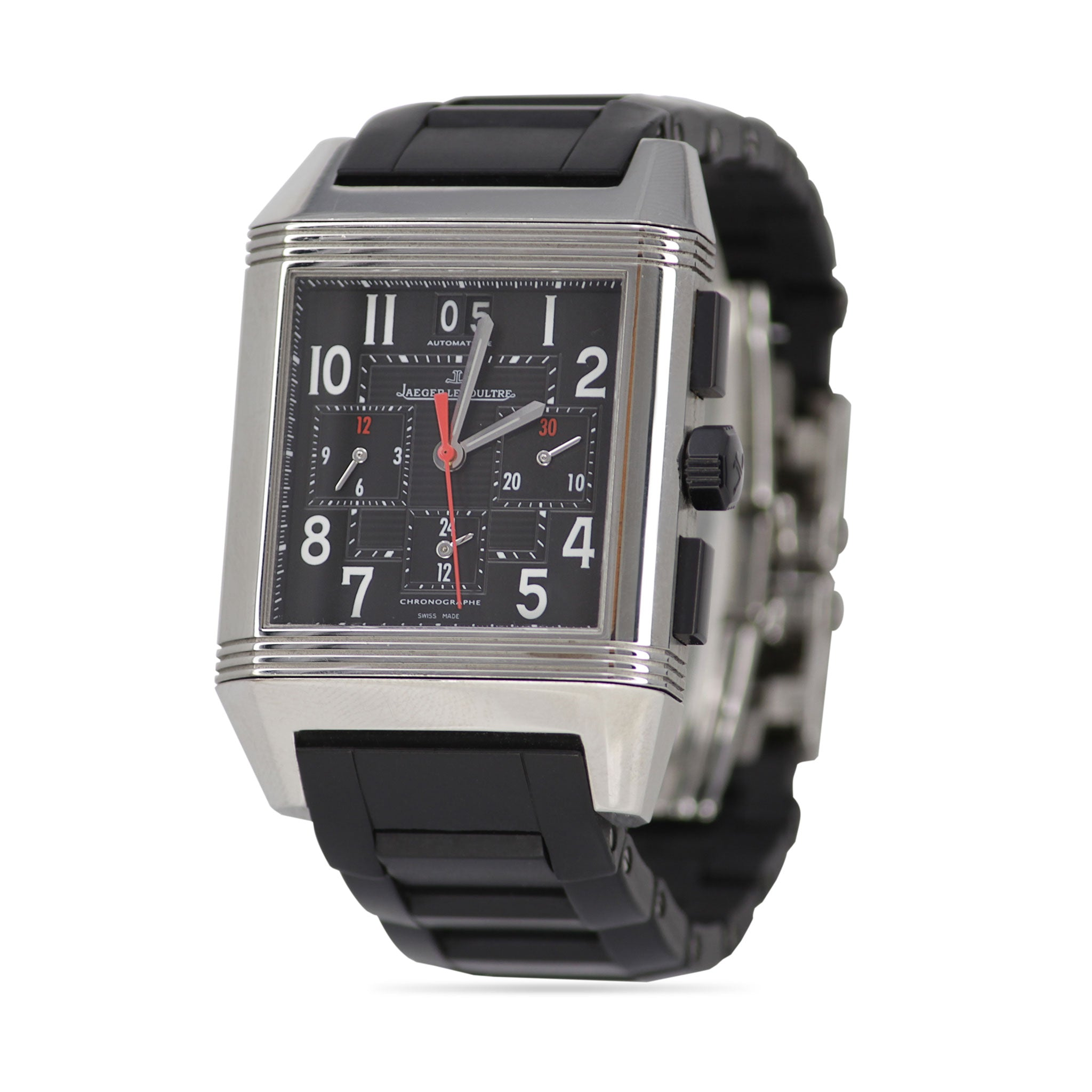 Jaeger-LeCoultre Reverso Squadra Chronograph GMT Watch