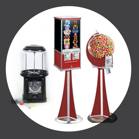 Button Vending Machines & Accessories