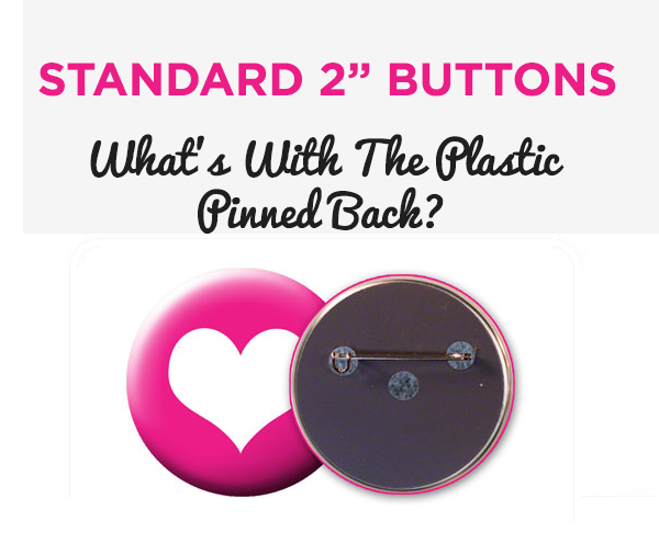 "Standard 2"" Plastic Back, How to Make 2"" Round Buttons,"