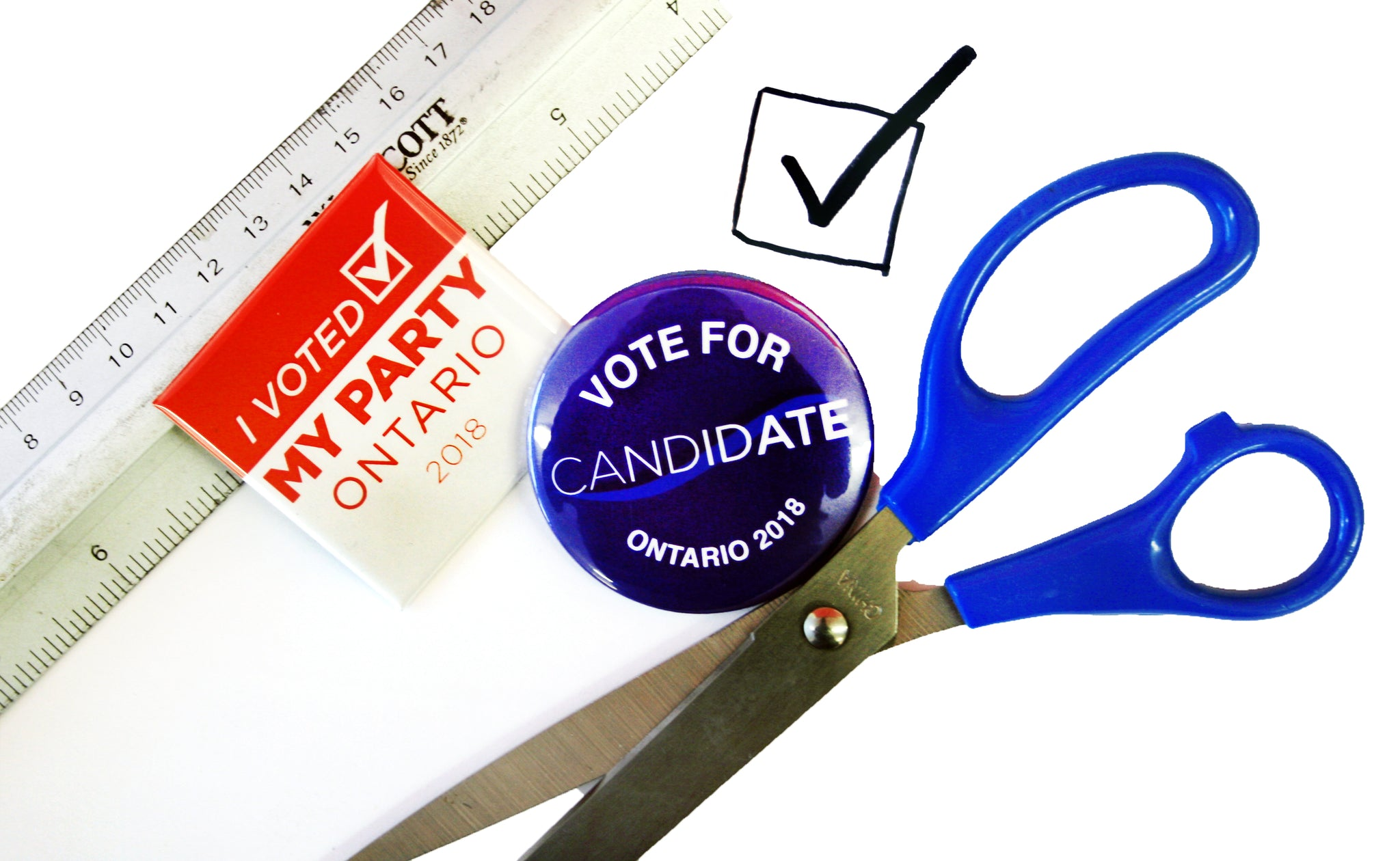 Ontario General Election 2018 Campaign Button