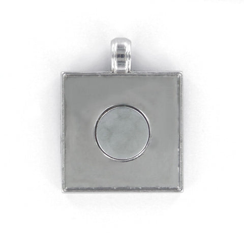 Artclix jewelry for square buttons