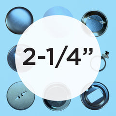 "2.25"" button making supplies"