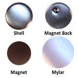 flatbacks with magnet for fridge magnets, magnet buttons