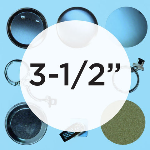 "Everything For Your 3.5"" Button Maker - Coaster Parts"