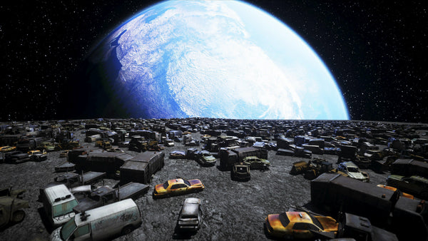 Amazon may need landfill in Space