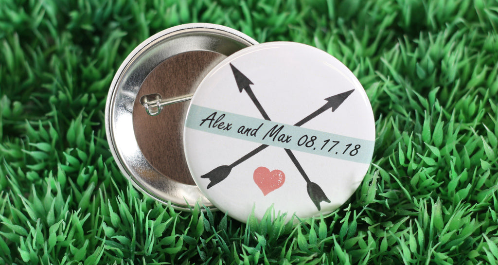Buttons as Wedding Favours