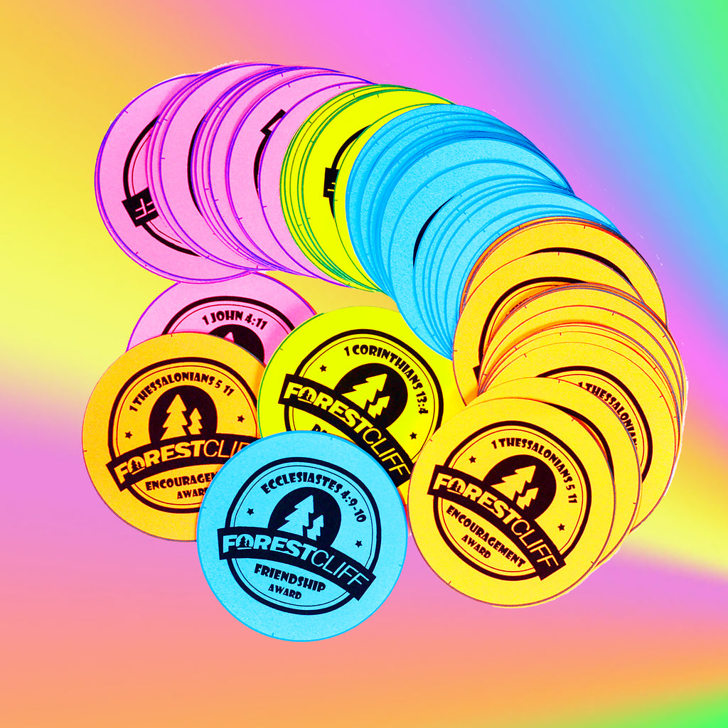 custom buttons for summer camps