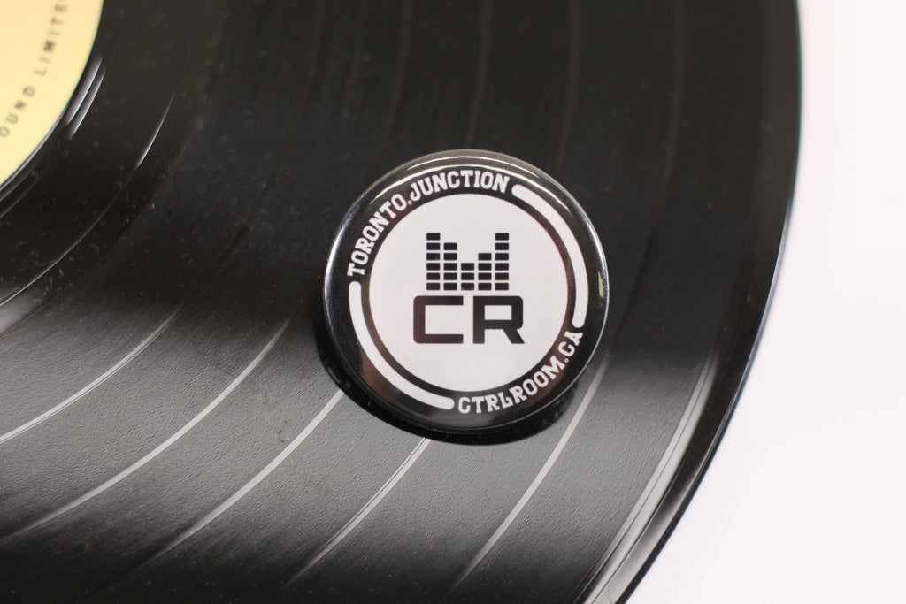CTRL ROOM, DJ Collective, Electronic Music Buttons, Local Music, Music Buttons, Custom Pinback Buttons by People Power Press,